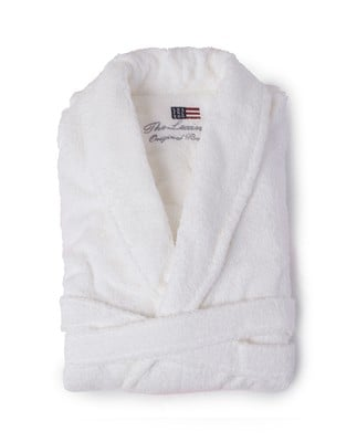 Unisex Original Bathrobe, White