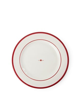 Icons Dinner Plate 27,50 cm, Red