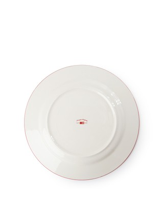 Icons Dinner Plate 26,50 cm, Red