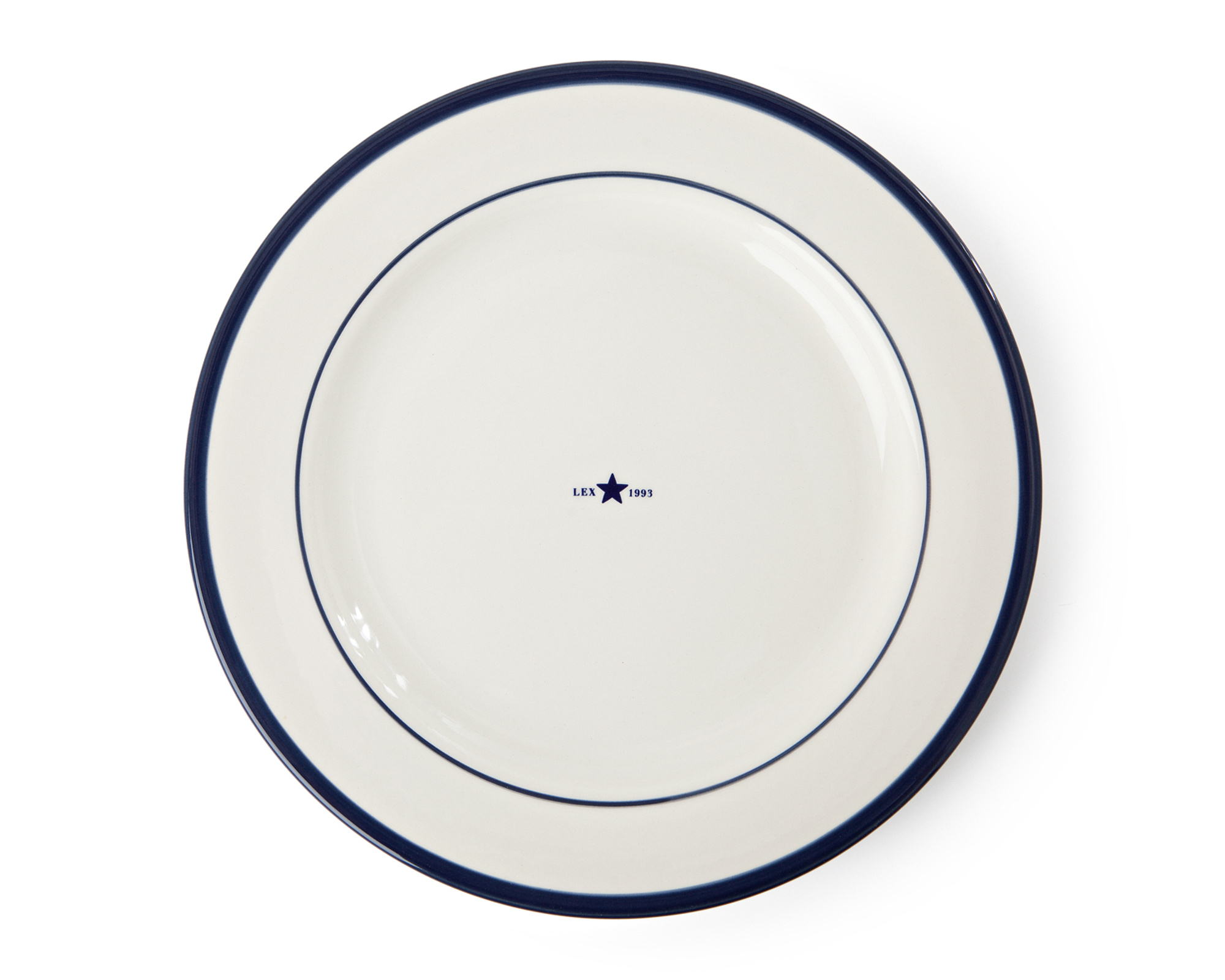 Icons Dinner Plate Blue