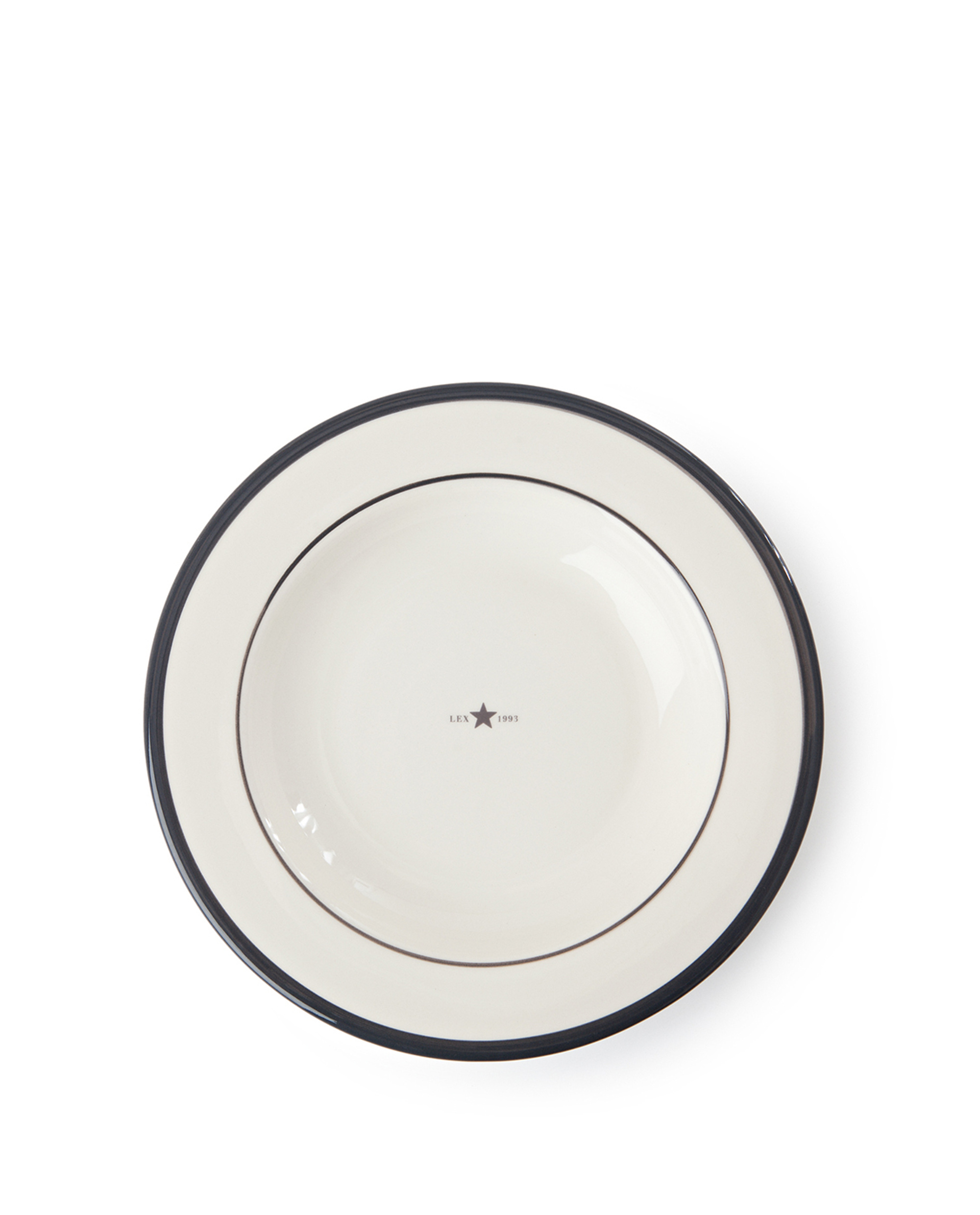 Icons Soup Plate 24 cm, Gray