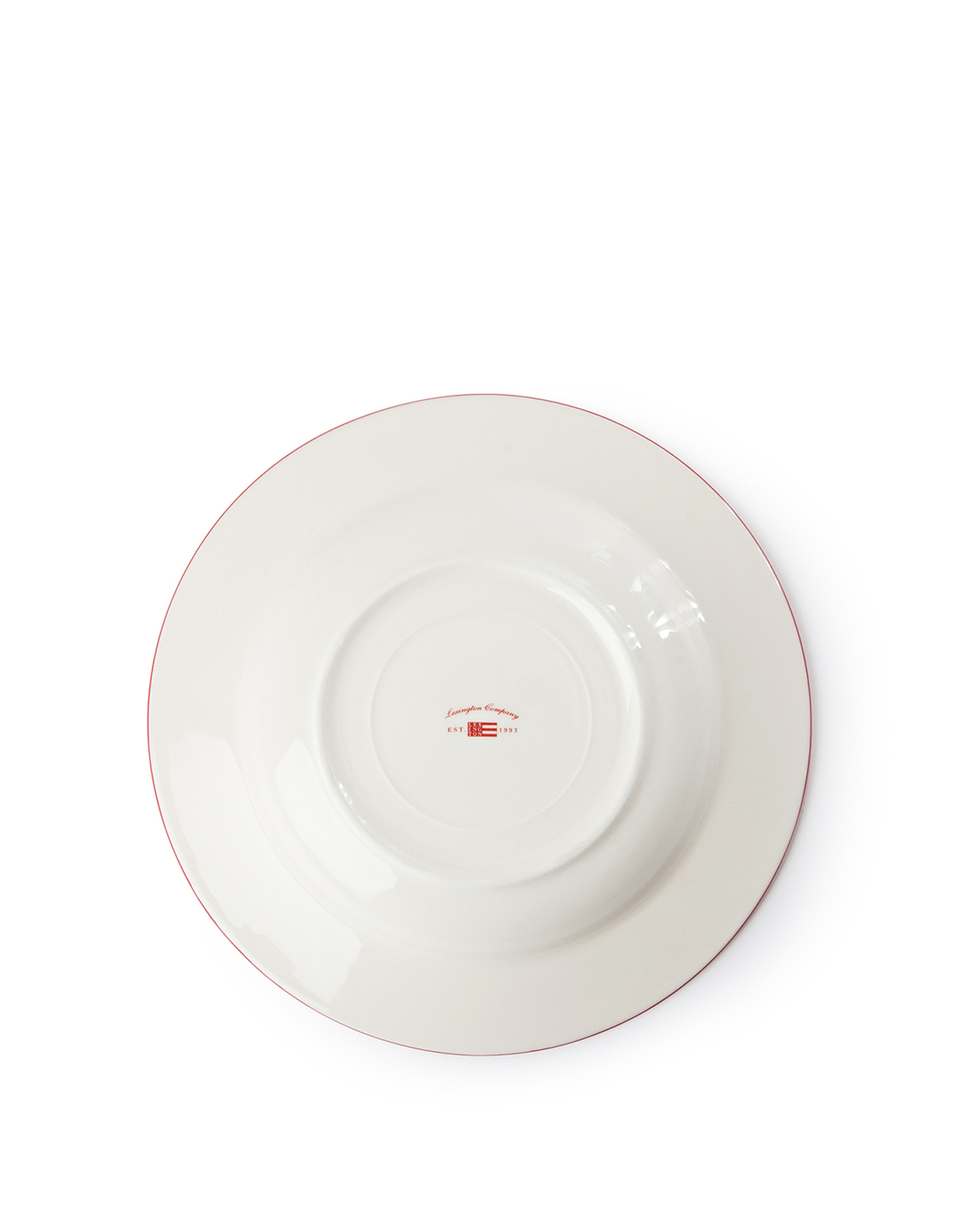 Icons Soup Plate 24 cm, Red