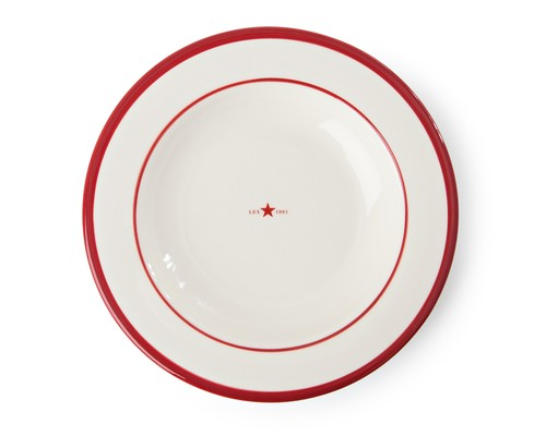 Icons Soup Plate Red
