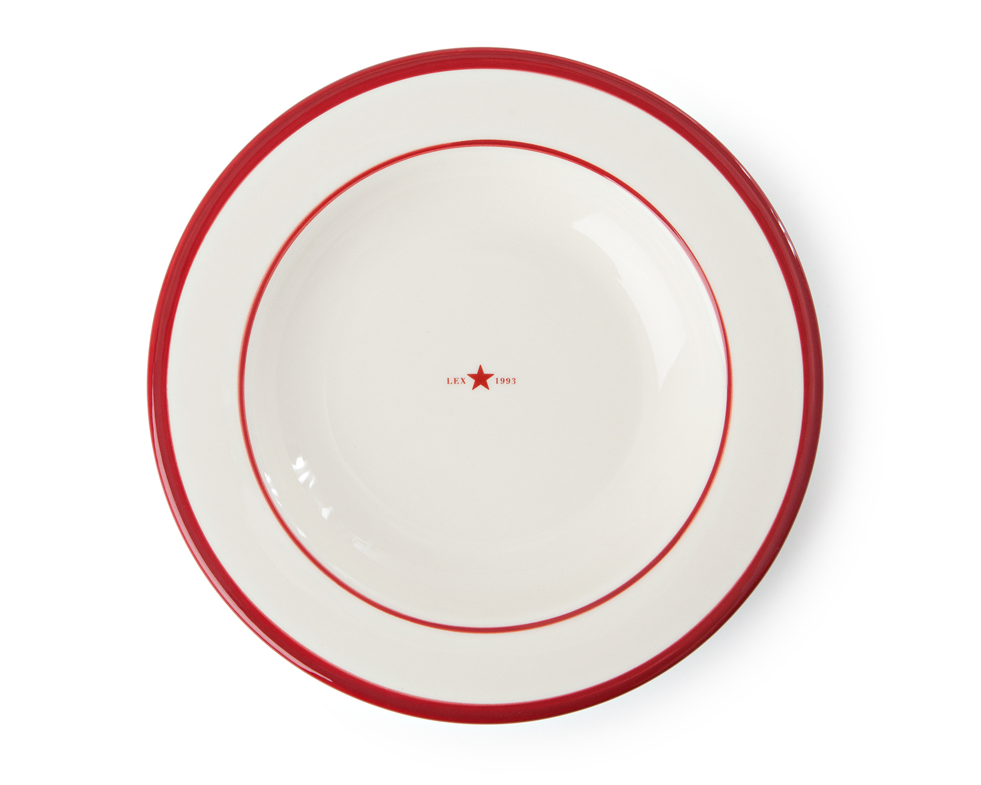 Soup Plate Red