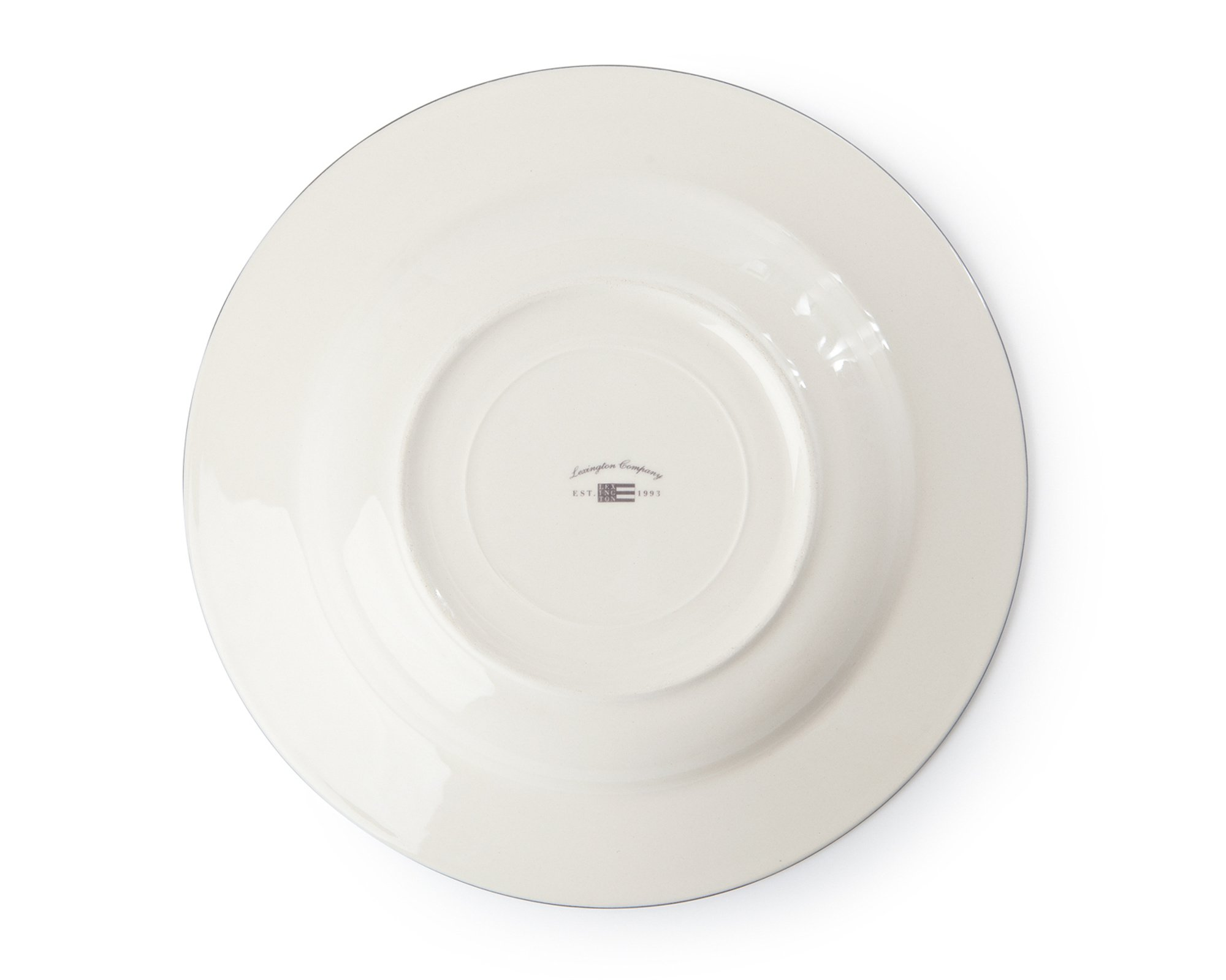 Icons Soup Plate Gray