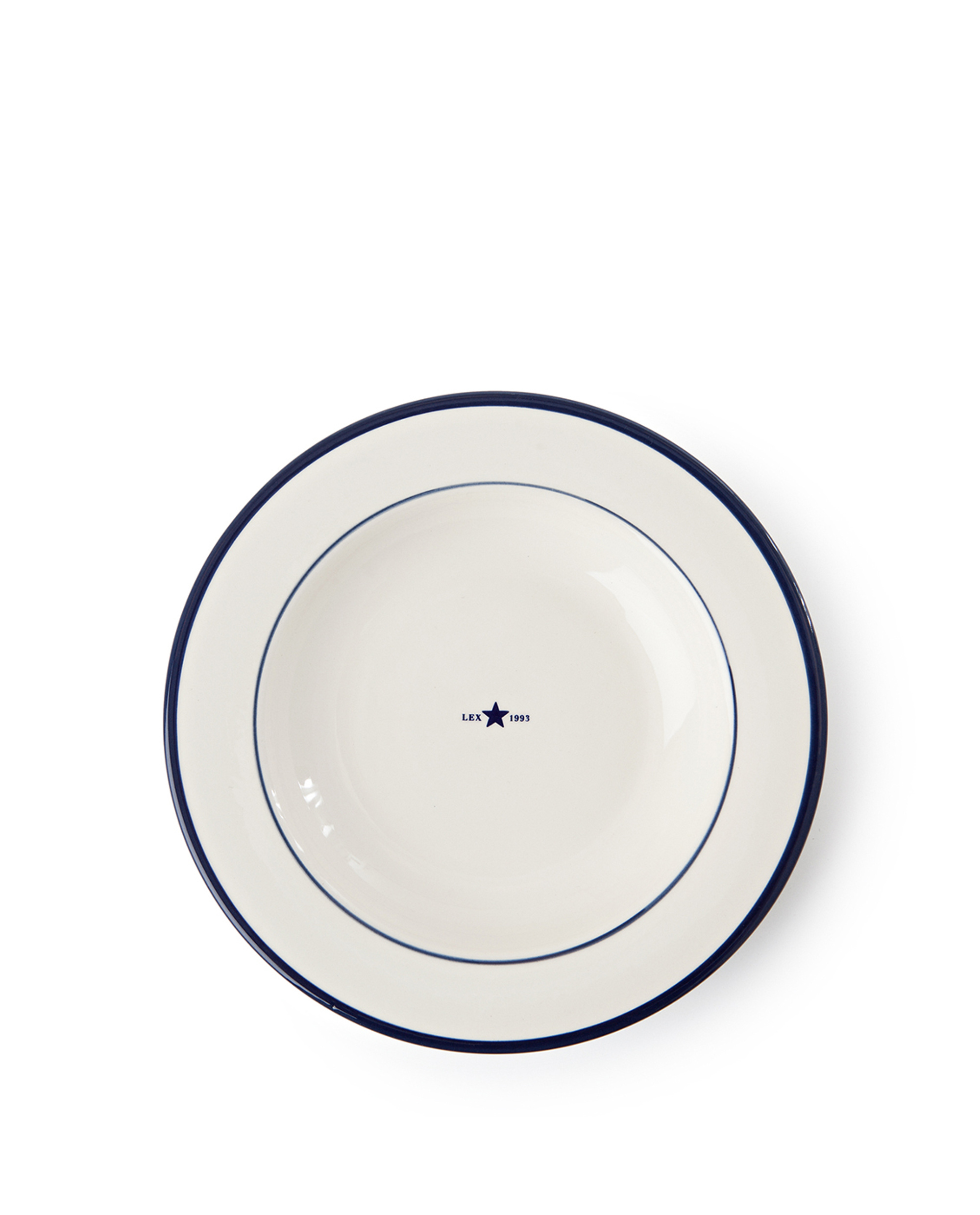Icons Soup Plate 24 cm, Blue