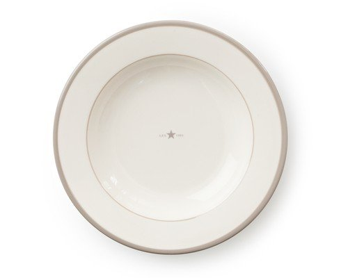 Icons Soup Plate Beige