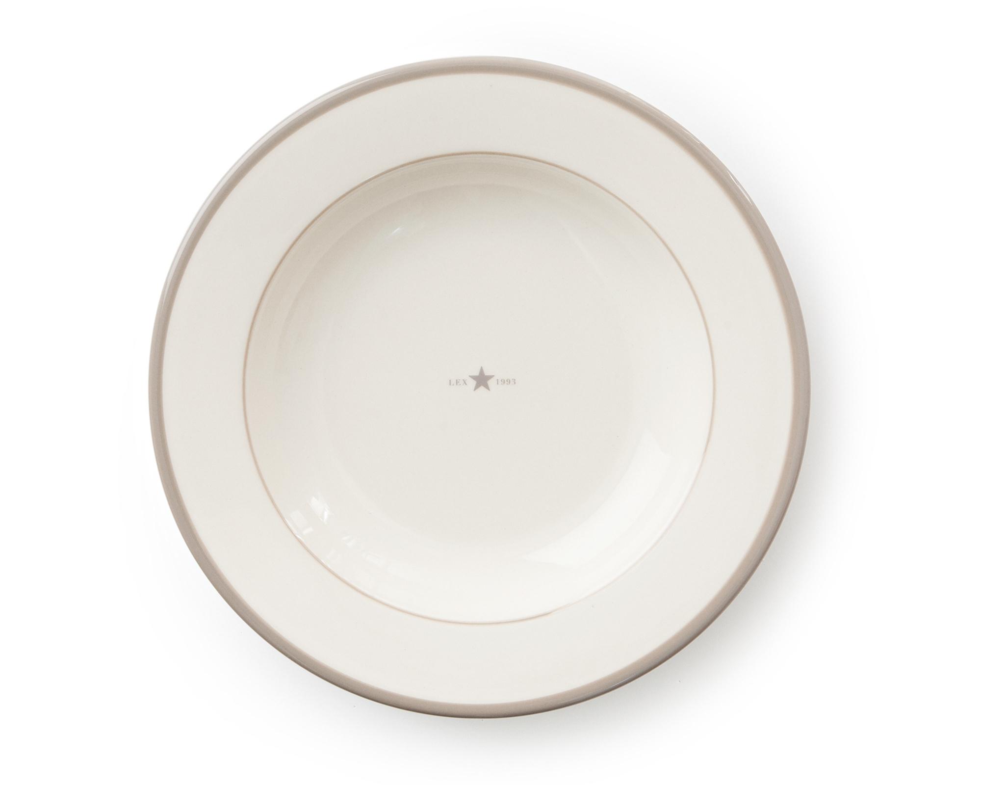 Soup Plate Beige