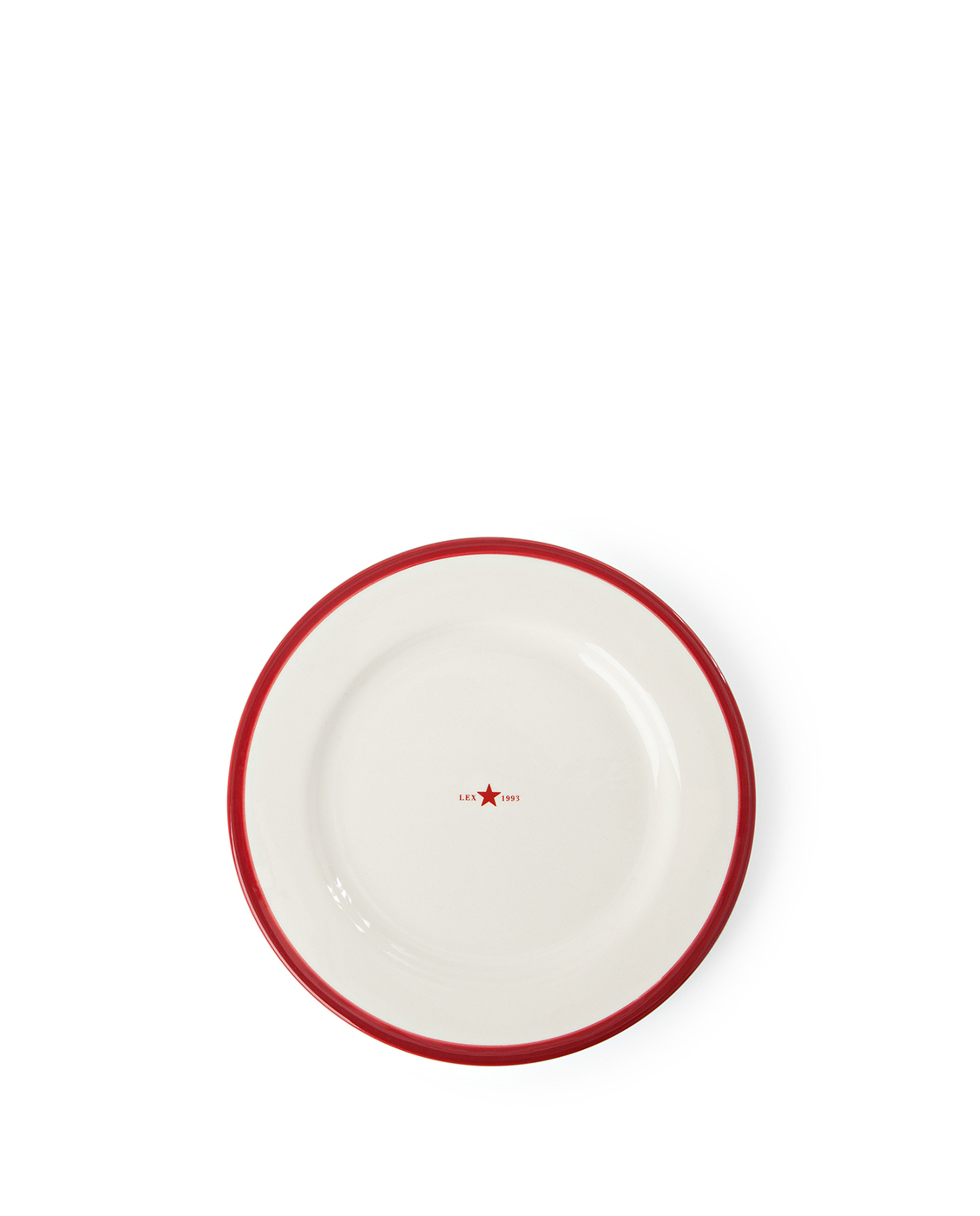 Icons Dessert Plate 22 cm, Red