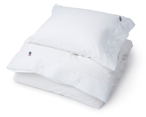 Pin Point Duvet, White