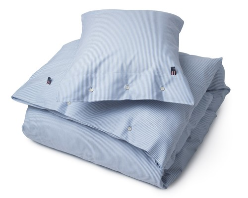 Pin Point Duvet, Blue/White