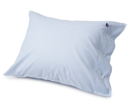 Pin Point Pillowcase, Blue/White