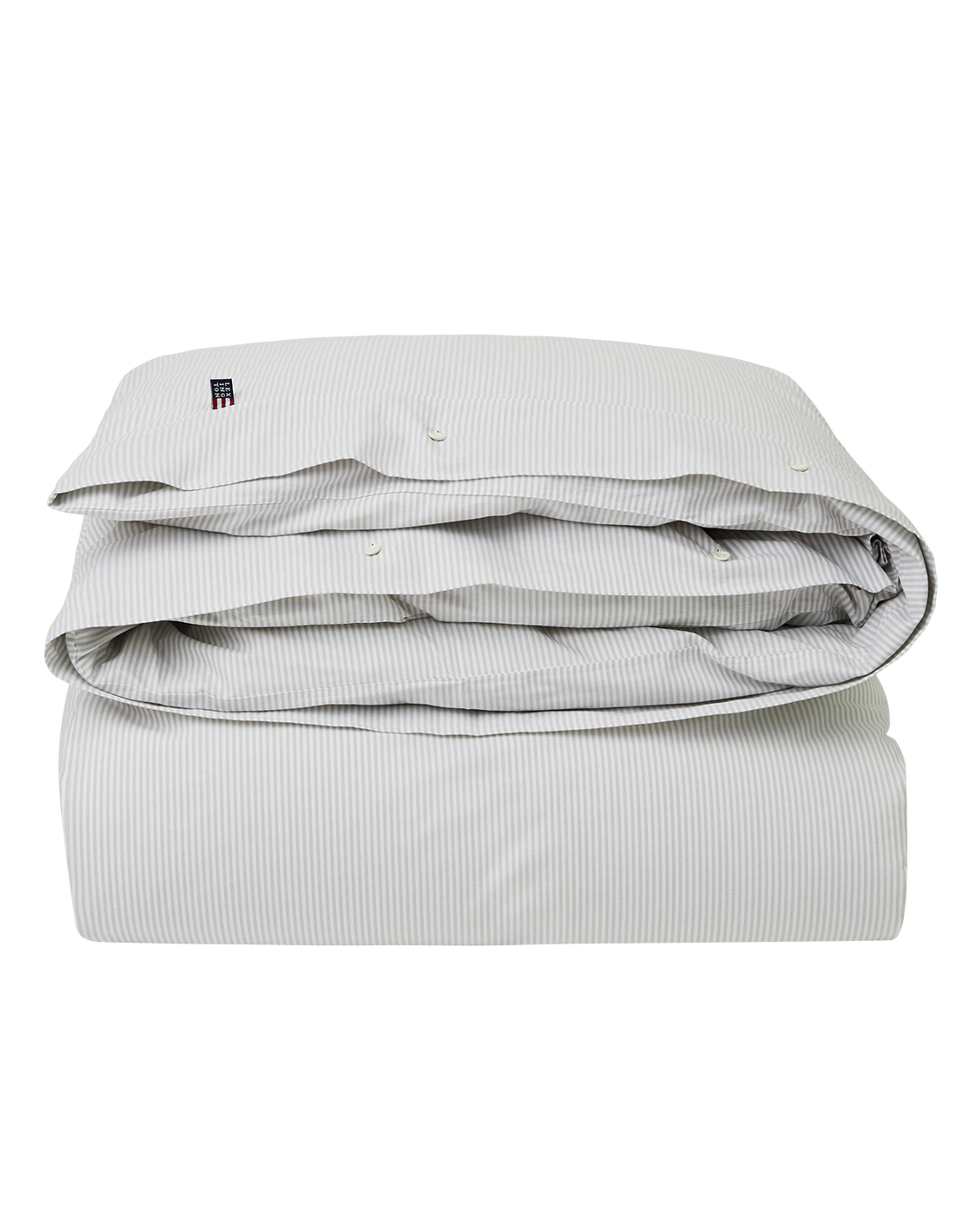 Icons Pin Point Duvet, Beige/White