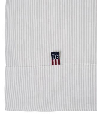 Icons Pin Point Duvet, Beige/White