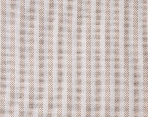 Pin Point Beige/White Flat Sheet