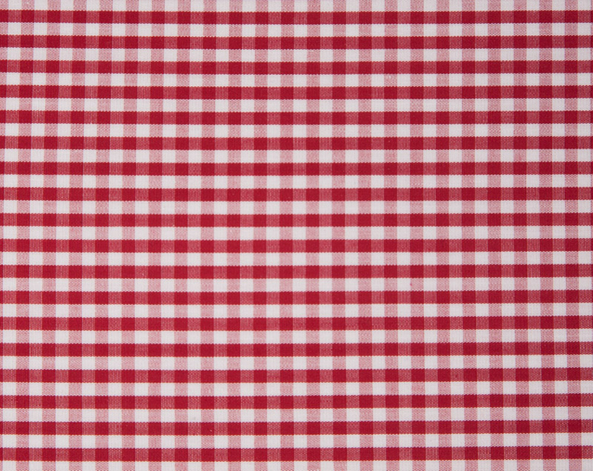 Seaside Check Pillowcase, Red/White
