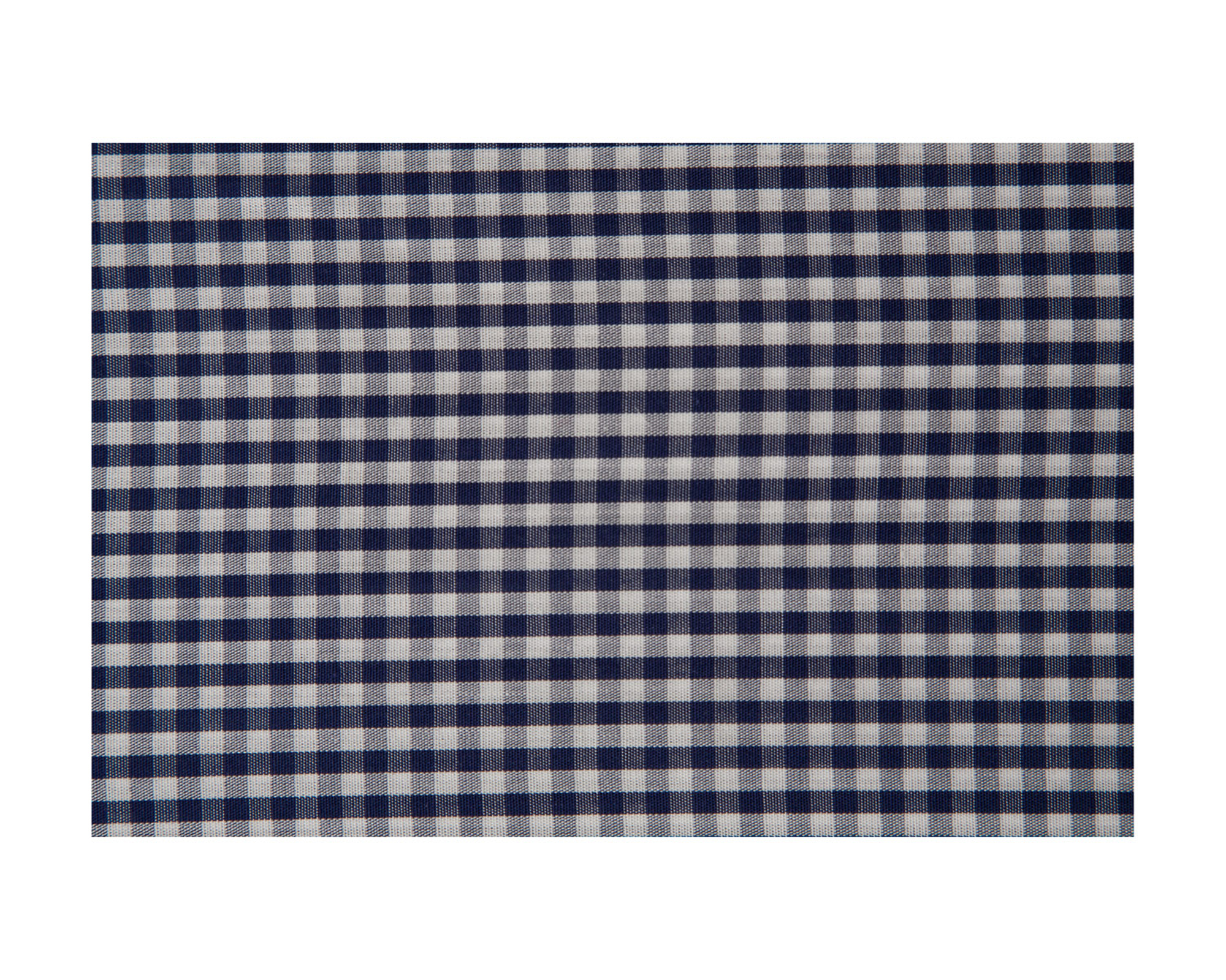 Seaside Check Duvet, Navy/White
