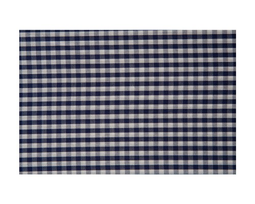 Seaside Check Pillowcase, Navy/White