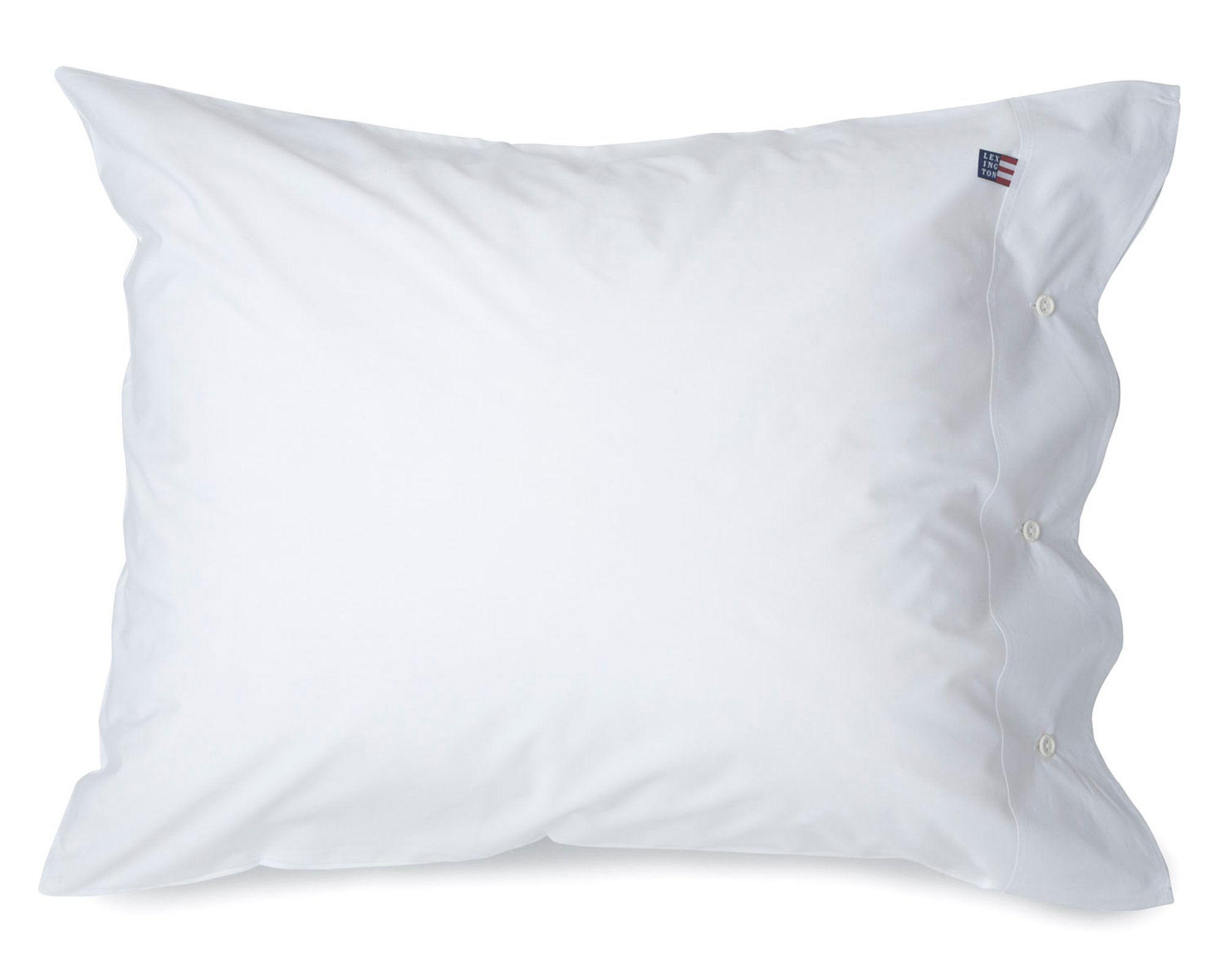Icons Poplin Pillowcase, White