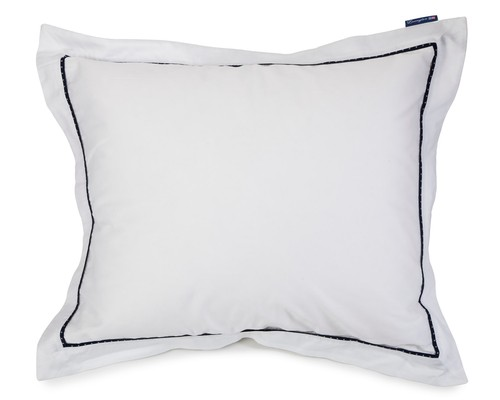 Sateen with Star Frame Pillowcase