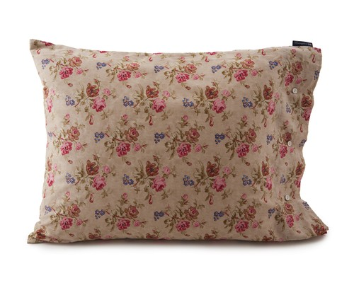 City Floral Sateen Pillowcase