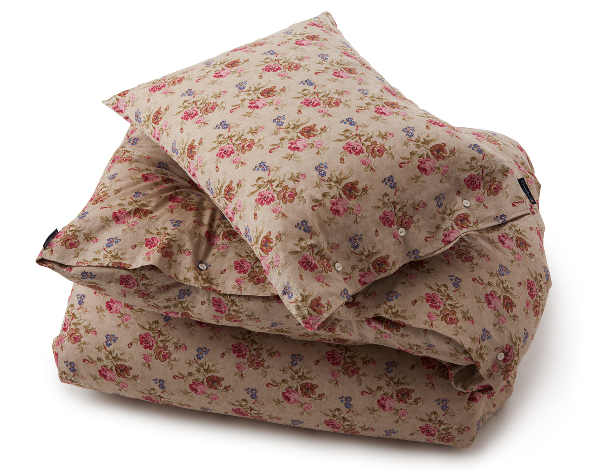 City Floral Sateen Flat Sheet