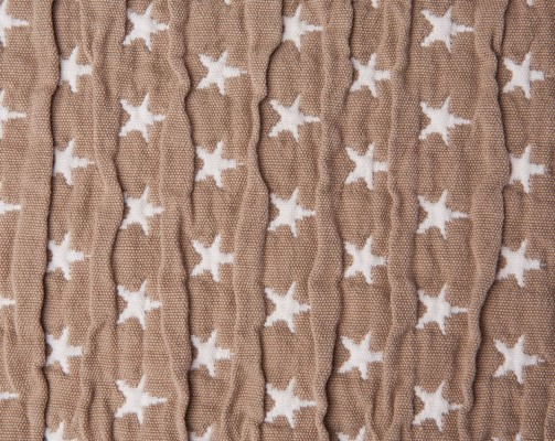 Icons Star Bedspread Beige