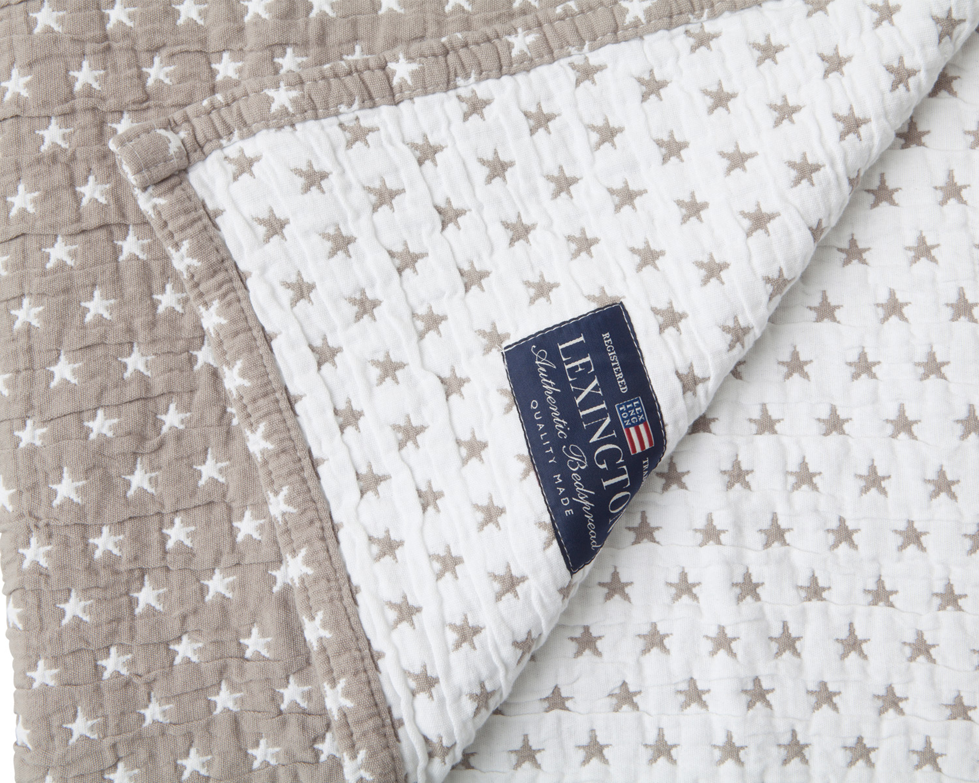 Icons Star Bedspread Gray