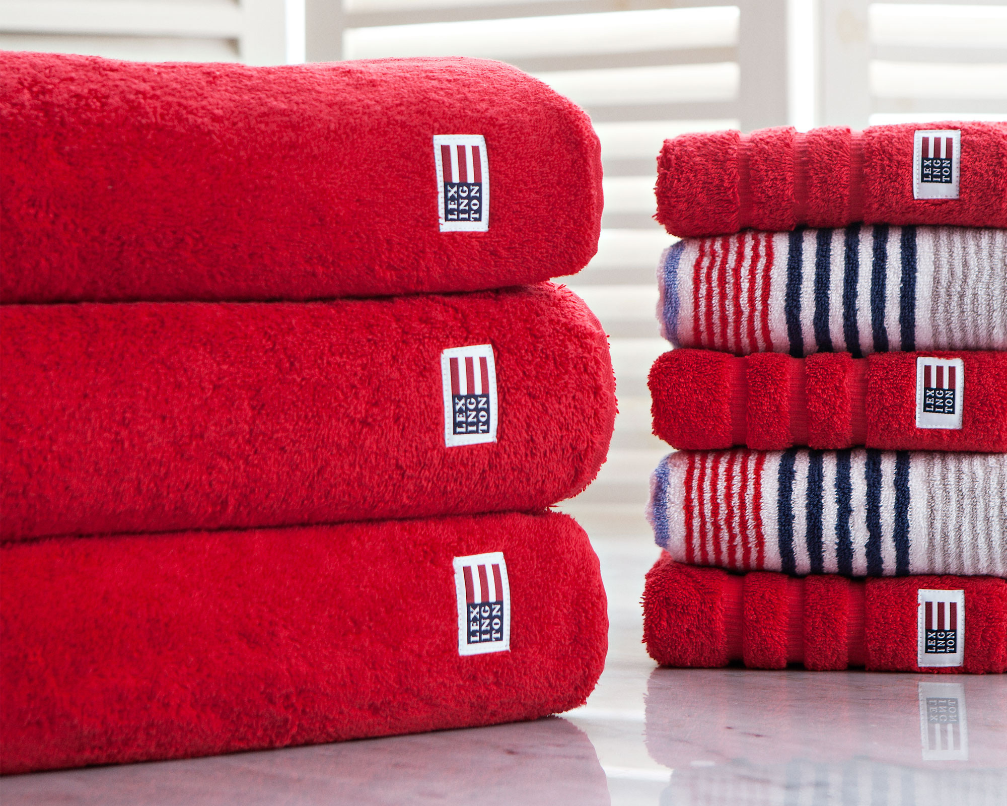 Original Bath Towel Red