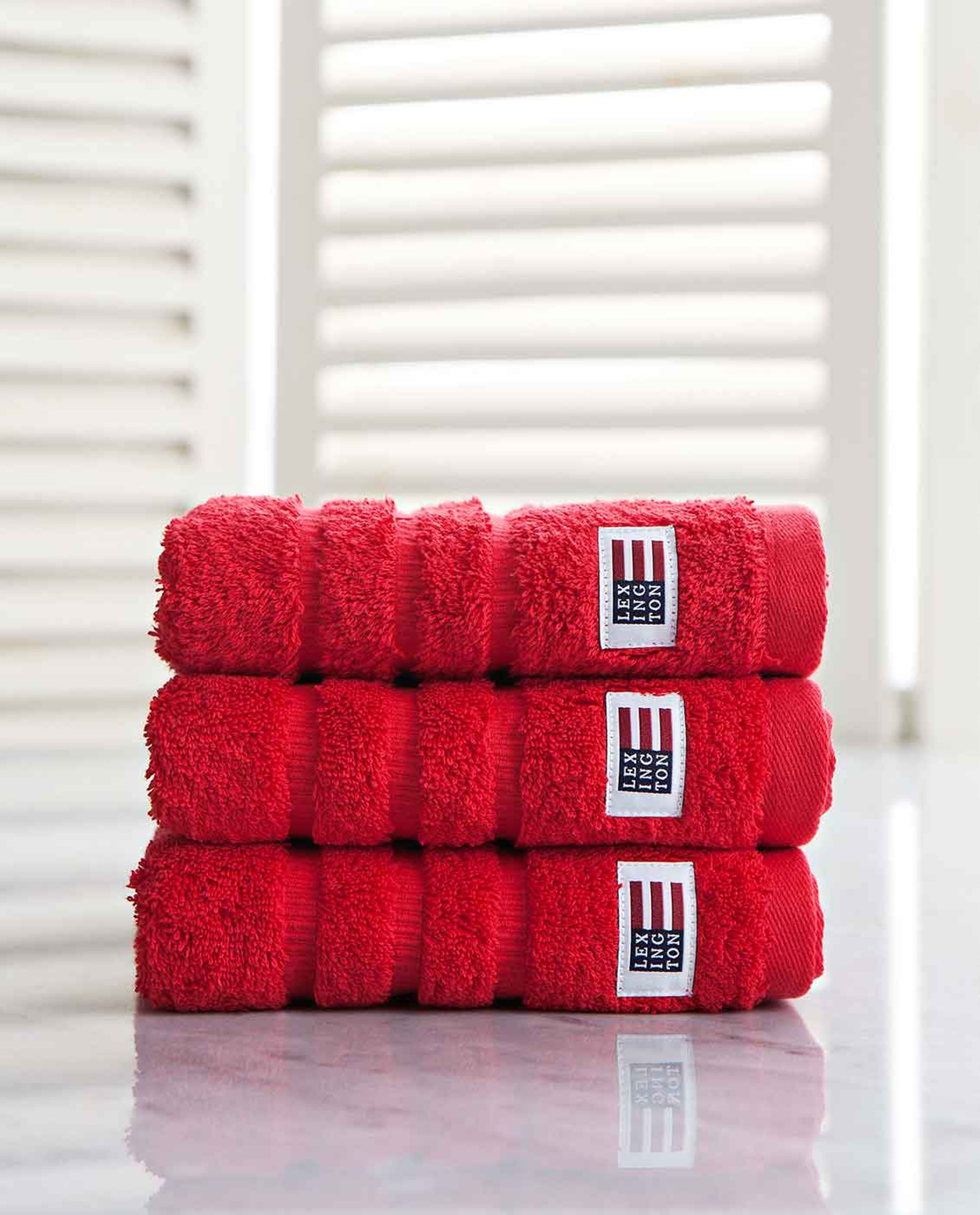 Icons Original Hand Towel Red