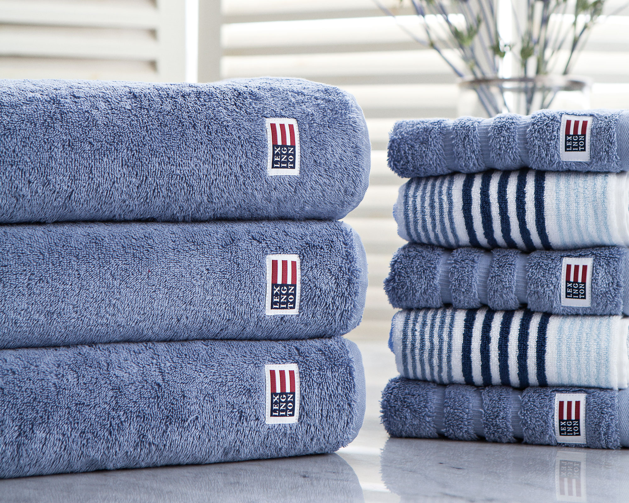 Original Bath Towel Medium Blue