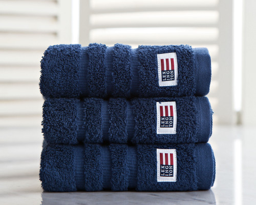 Icons Original Hand Towel Navy