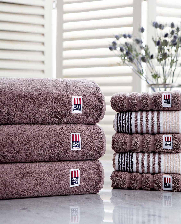Icons Original Bath Towel Chocolate