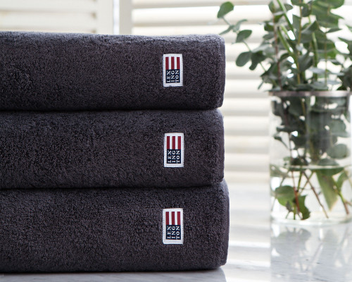 Icons Original Bath Towel Charcoal