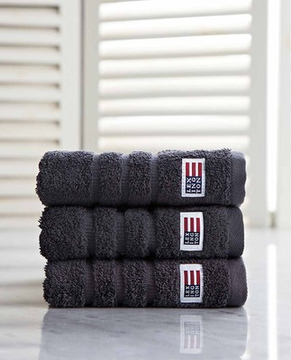 Icons Original Towel Charcoal