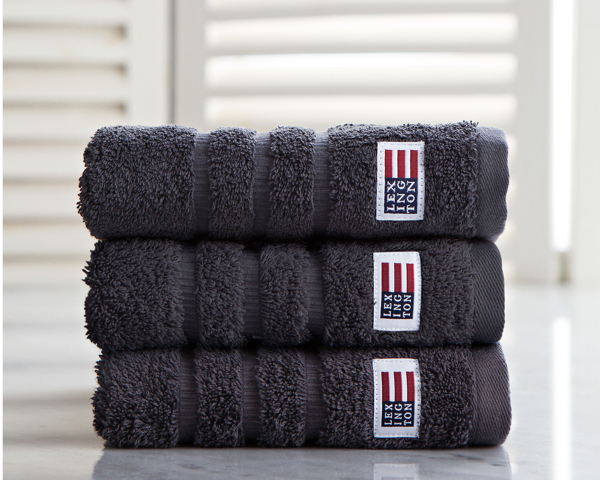 Icons Original Hand Towel Charcoal
