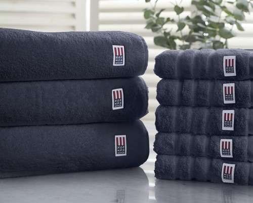 Icons Original Bath Towel Midnight Blue