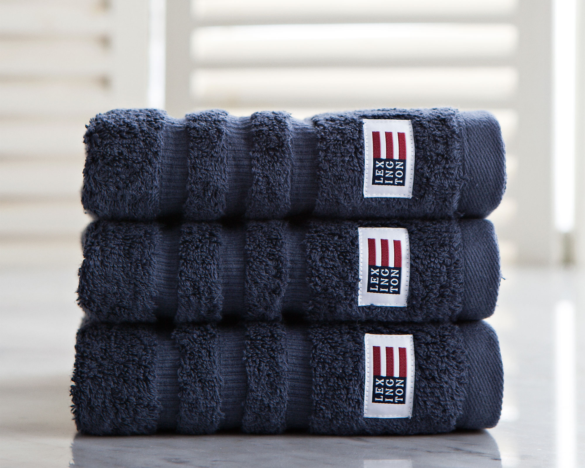 Icons Original Hand Towel Midnight Blue