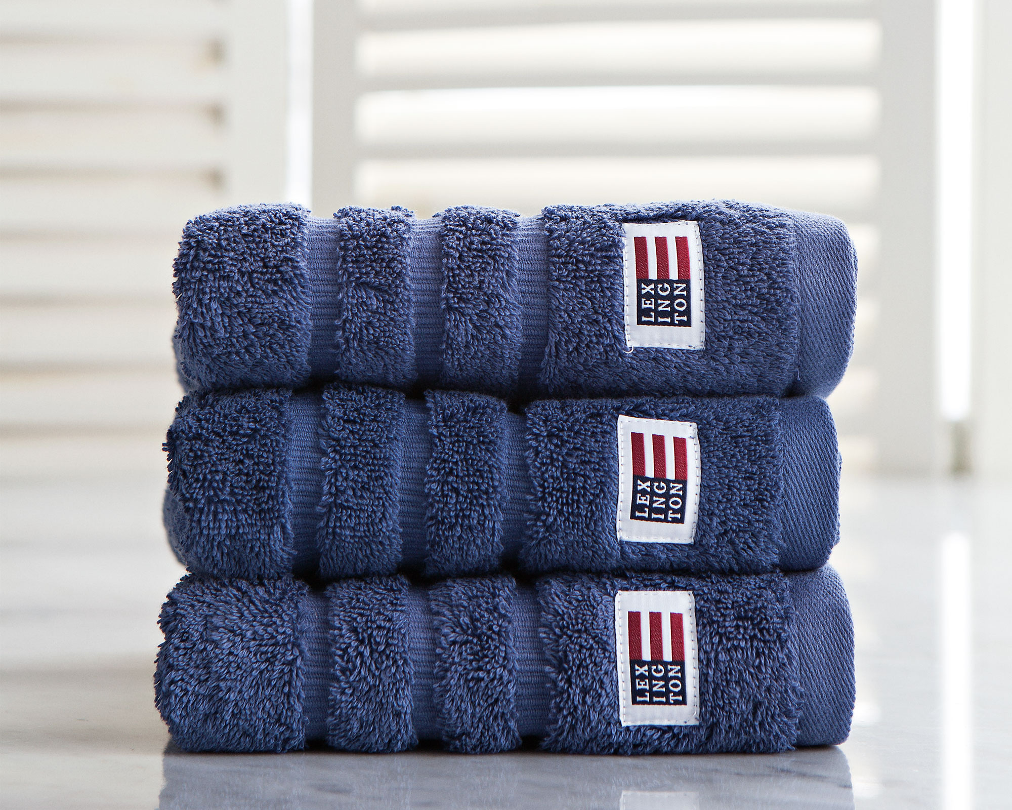 Original Hand Towel Denim Blue