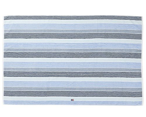 Original Striped Bath Towel Blue