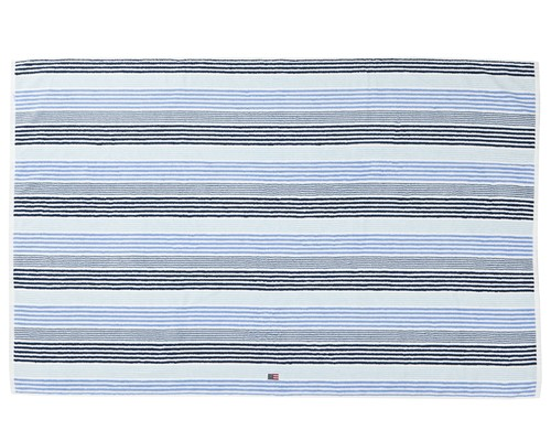 Original Striped Towel Blue