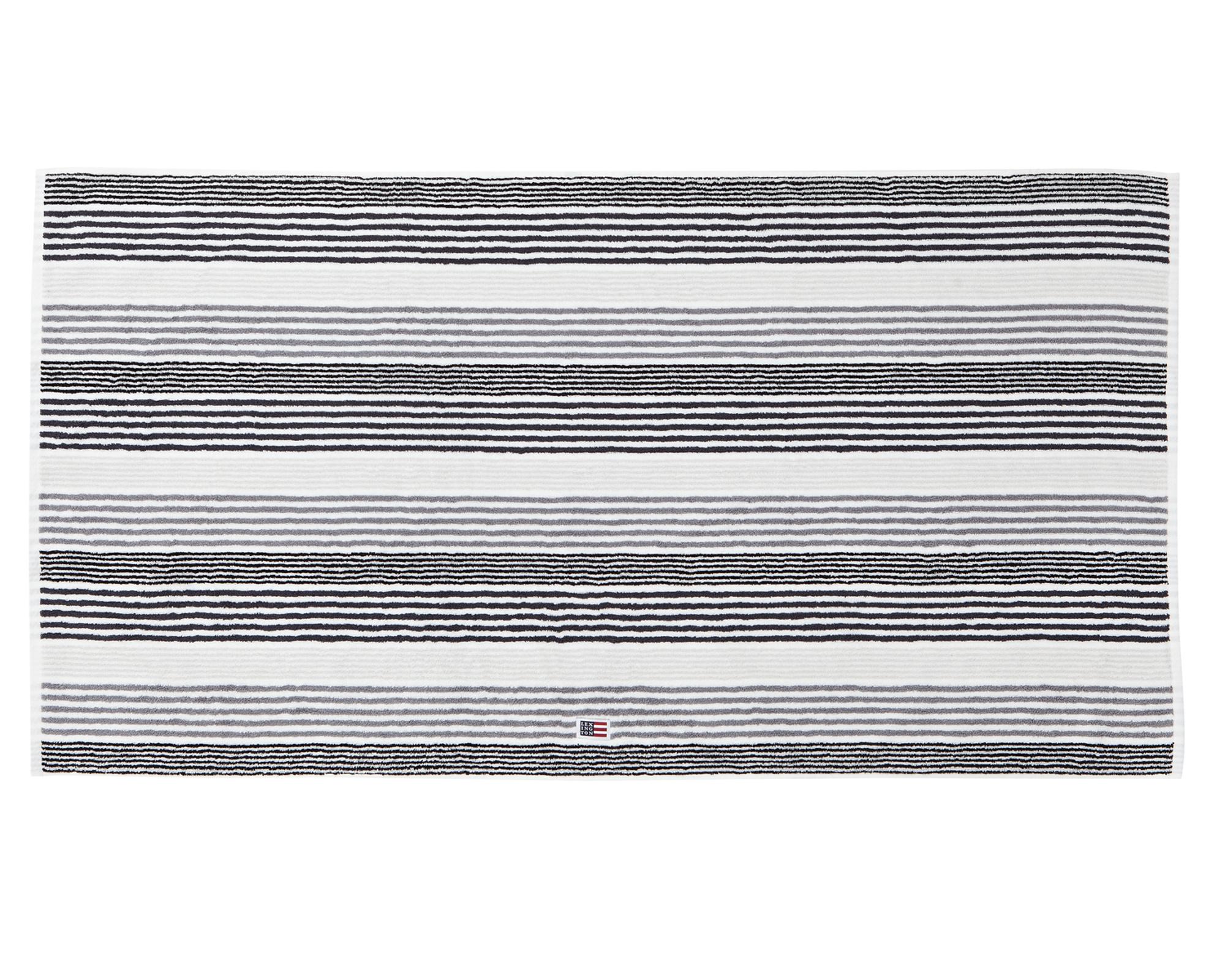 Original Striped Bath Towel Gray