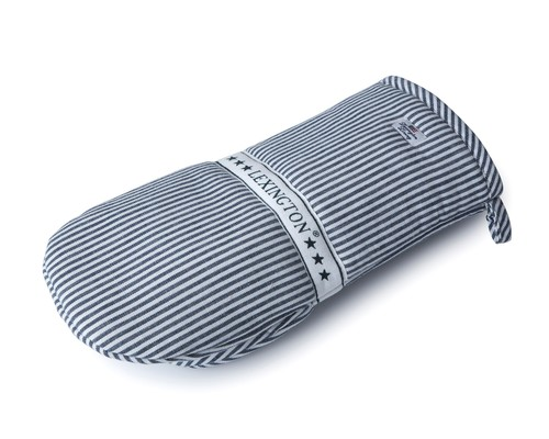Oxford Navy/White Striped Mitten