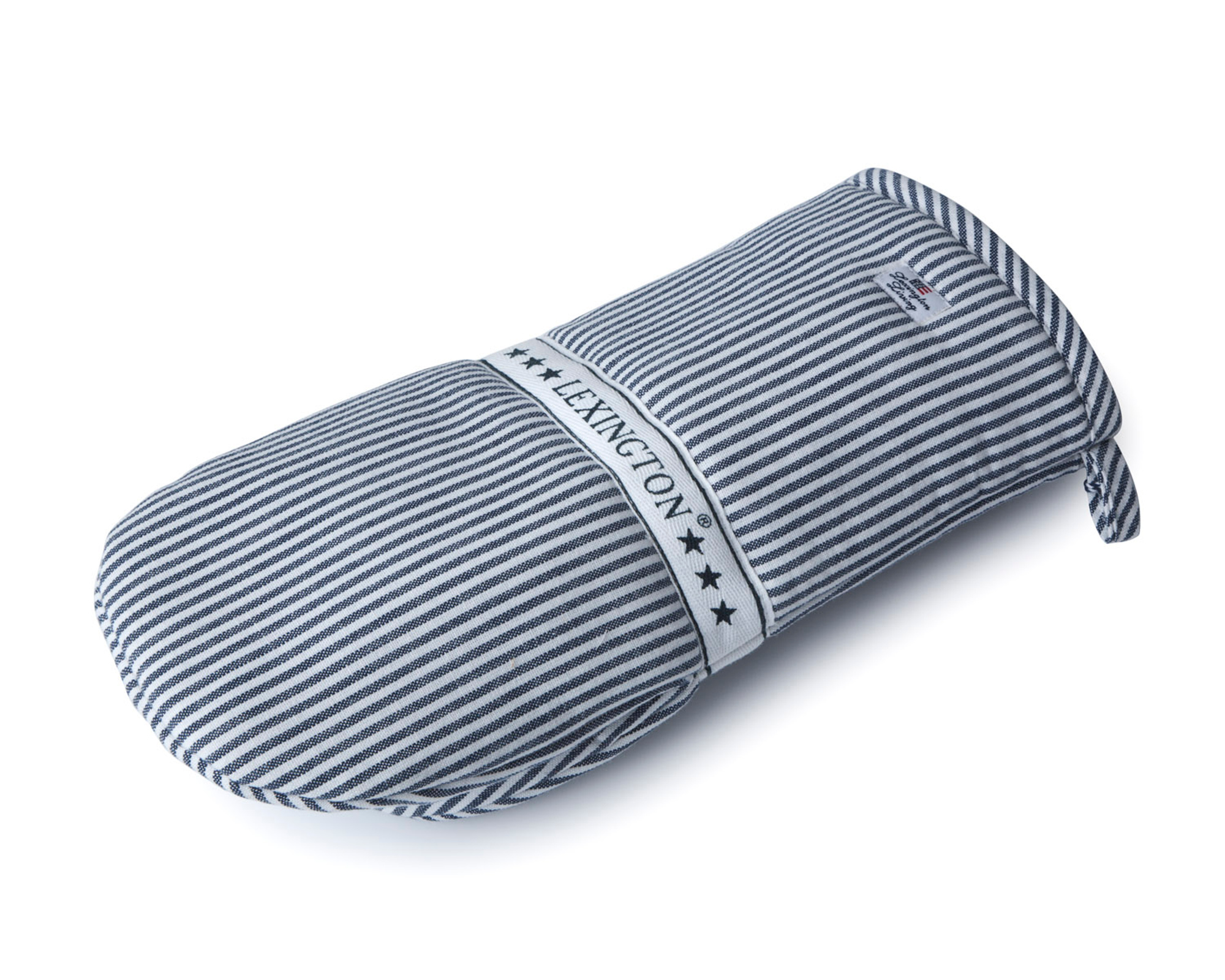 Icons Oxford Navy/White Striped Mitten