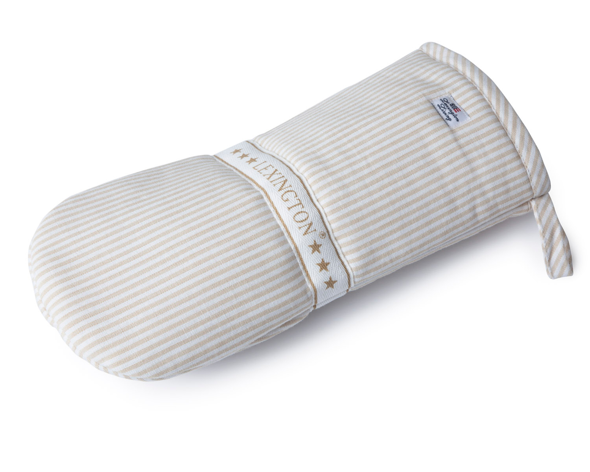 Icons Oxford Beige/White Striped Mitten