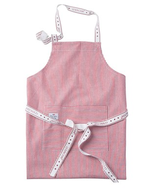 Icons Oxford Red/White Striped Apron
