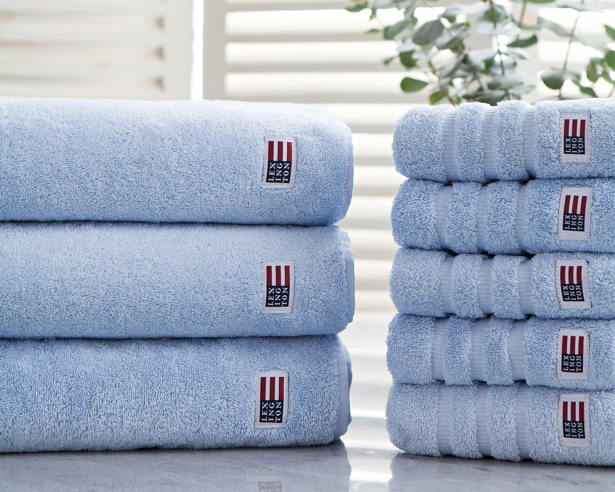 Original Bath Towel Cashmere Blue