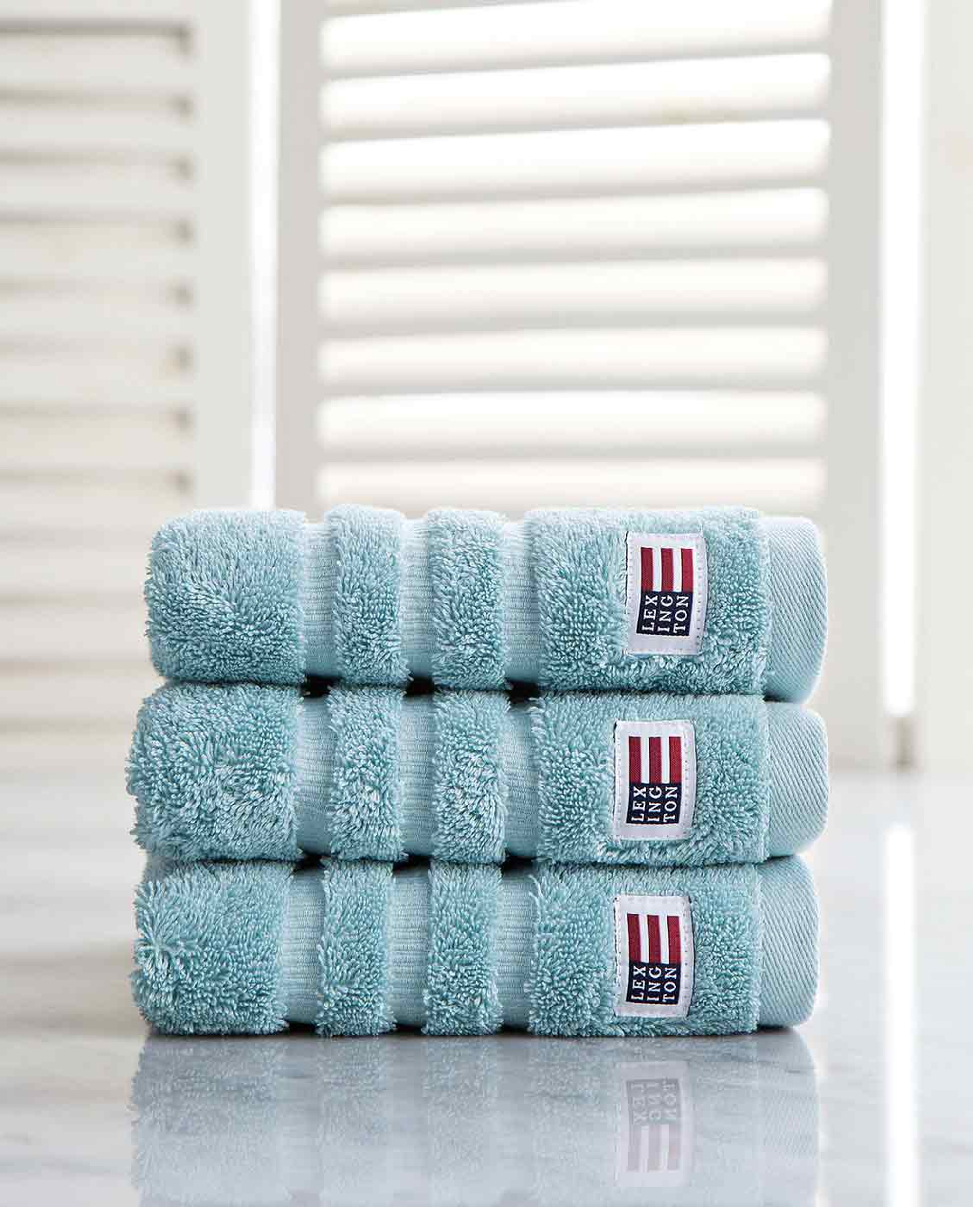 Icons Original Hand Towel Teal Blue