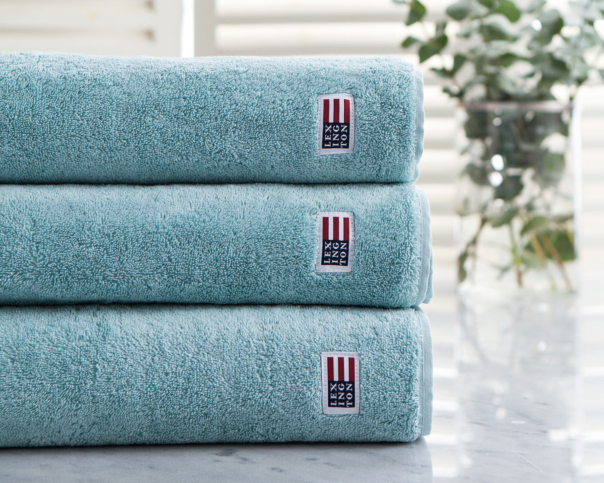 Original Bath Towel Teal Blue