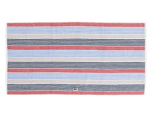 Original Striped Bath Towel Red/White/Blue